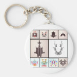 Ror All Coll Ten Keychains