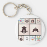 Ror All Coll Two Key Chains
