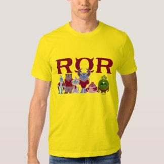 ROR - Estudiantes del susto Camisas