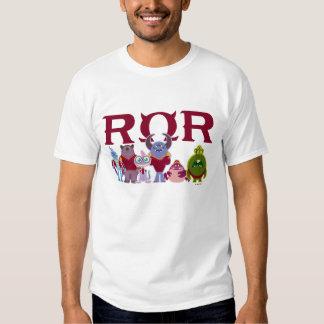 ROR - Estudiantes del susto Playeras