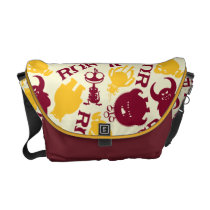 ROR Pattern Courier Bags at Zazzle