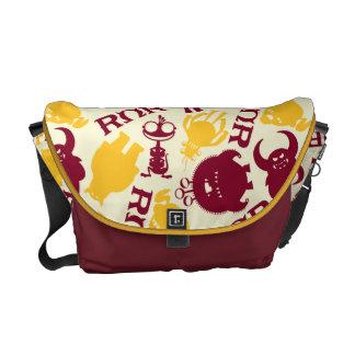 ROR Pattern Messenger Bag