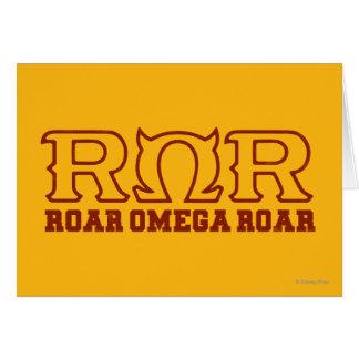 ROR - ROAR  OMEGA ROAR - Logo Card