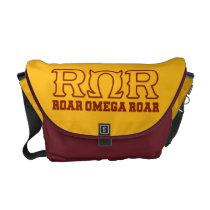 ROR - ROAR  OMEGA ROAR - Logo Messenger Bags at Zazzle