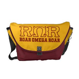 ROR - RUGIDO de OMEGA del RUGIDO - logotipo Bolsa De Mensajeria