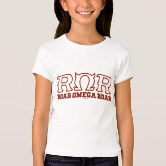 ROR - RUGIDO de OMEGA del RUGIDO - logotipo Poleras
