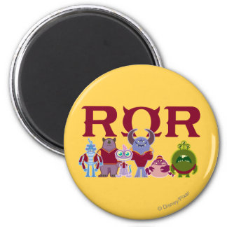 ROR - Scare Students 2 Inch Round Magnet