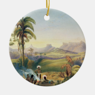 Roraima, a Remarkable Range of Sandstone Mountains Ceramic Ornament
