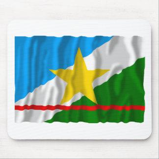 Roraima, bandera que agita del Brasil Alfombrilla De Raton