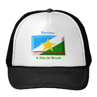 Roraima Flag Gem Trucker Hat