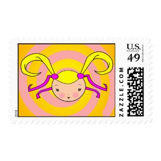 Rori Swirl Postage Stamps