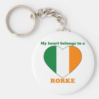 Rorke Keychain