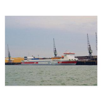 RoRo Ferry Bothniaborg Postcard