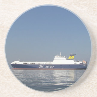 RoRo Ferry Drink Coaster