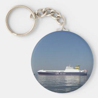 RoRo Ferry Keychain