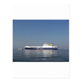 RoRo Ferry Postcard