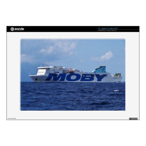 "RoRo Passenger Ferry Maria Grazia On Skins For 15"" Laptops"