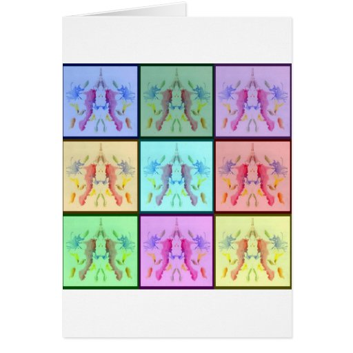 Rors Coll Ten Untitled Greeting Card