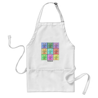 Rors Collage Nine Titled Adult Apron