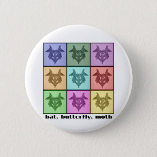 Rors Collage One Titled Pinback Button