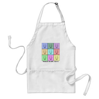Rors Collage Seven Titled Adult Apron
