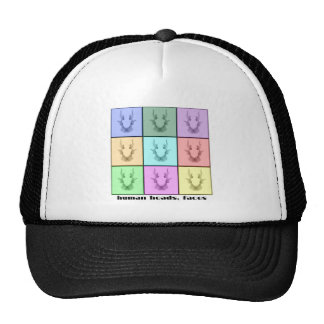 Rors Collage Seven Titled Trucker Hat