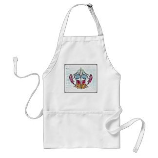 Rors Eight Fractal Adult Apron