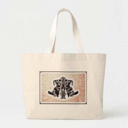 Rors Four Fractal Canvas Bags