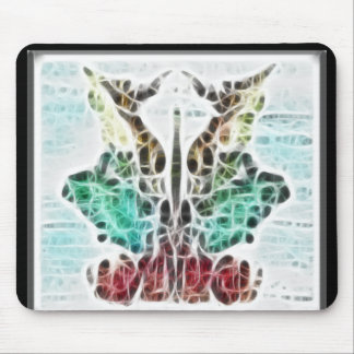 Rors Nine Fractal Mouse Pad