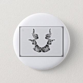 Rors Seven Fractal Pinback Button