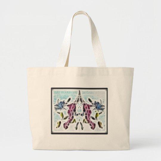 Rors Ten Fractal Large Tote Bag