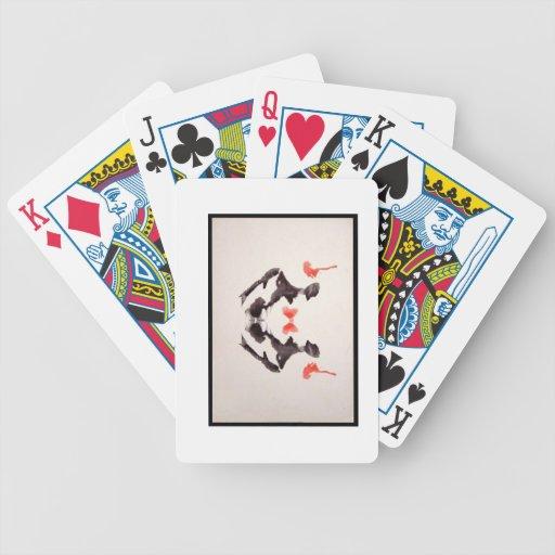 Rors tres sin título baraja de cartas