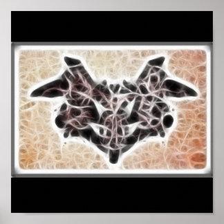 Rors un poster del fractal
