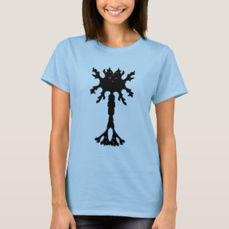 Rorscach Inkblot Neuron Ladies T-shirt