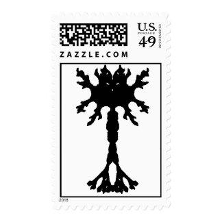 Rorscach Inkblot Neuron Postage