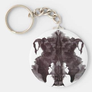 Rorschach Blot 4 Keychains