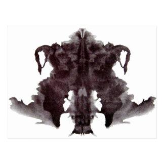 Rorschach Blot 4 Postcard