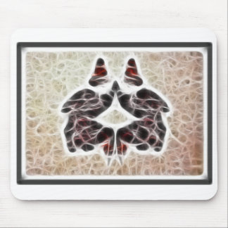 Rorschach Fractal 2 Mouse Pad