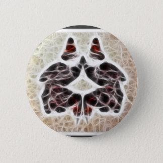 Rorschach Fractal 2 Pinback Button
