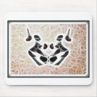 Rorschach Fractal 3 Mouse Pad