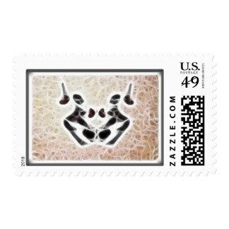 Rorschach Fractal 3 Postage Stamp