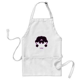 Rorschach inkblot10 adult apron