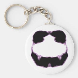 Rorschach inkblot11 basic round button keychain