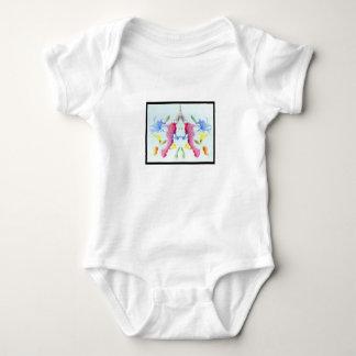 Rorschach Inkblot 10.0 Baby Bodysuit