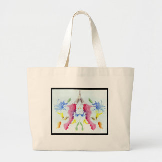 Rorschach Inkblot 10.0 Large Tote Bag