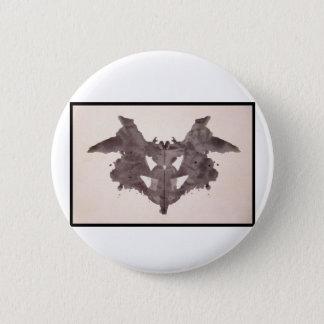 Rorschach Inkblot 1.0 Pinback Button