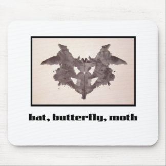 Rorschach Inkblot 1 Mouse Pad