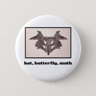 Rorschach Inkblot 1 Pinback Button