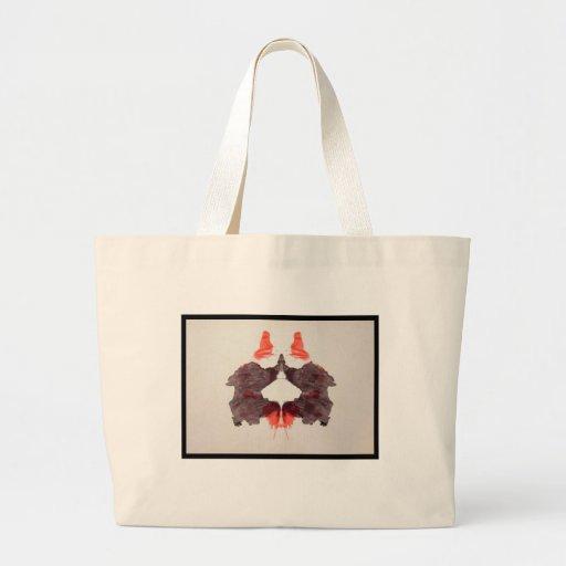 Rorschach Inkblot 2.0 Jumbo Tote Bag