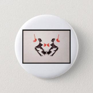 Rorschach Inkblot 3.0 Pinback Button